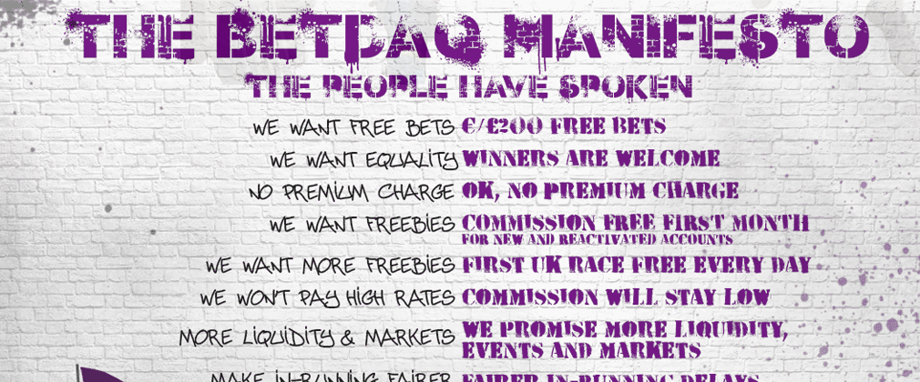The BETDAQ Manifesto